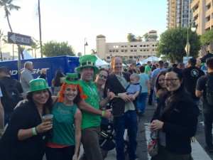 St. Paddy's day block party!
